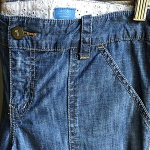 Pilcro and the Letterpress Carpenter Light Denim